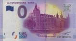 Billet touristique 0€ La conciergerie Paris 2017