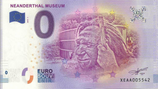 Billet touristique 0€ Neanderthal museum 2018
