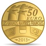 50 euros L'Amazone 2013 en or 1/4 oz