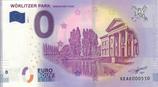 Billet touristique 0€ Worlitzer park Unesco Welterbe 2018
