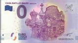 Billet touristique 0€ Casa Batllo Gaudi Barcelona 2018