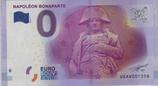 Billet touristique 0€ Napoléon Bonaparte 2016
