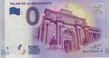 Billet touristique 0€ Palais de la découverte 2017