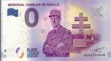 Billet touristique 0€ Mémorial Charles de Gaulle 2018