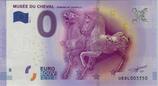 Billet touristique 0€ Musée du cheval Domaine de Chantilly 2016