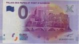 Billet touristique 0€ Palais des papes et pont d'Avignon 2016