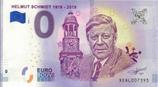 Billet touristique 0€ Helmut Schmidt 2018