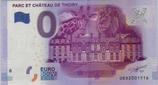 Billet touristique 0€ Parc et chateau de Thoiry 2016