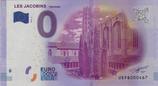 Billet touristique 0€ Les jacobins Toulouse extérieur 2016