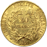 20 francs or Napoléon