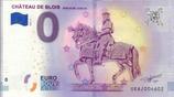 Billet touristique 0€ Chateau de Blois Statue de Louis XII 2018