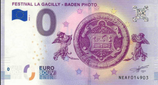 Billet touristique 0€ Festival la gacilly Baden photo 2018