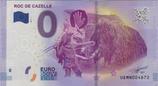 Billet touristique 0€ Roc de Cazelle 2017