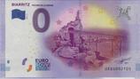 Billet touristique 0€ Biarritz Rocher de la vierge 2017