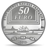50 euros argent 5 onces La Gloire 2013
