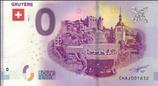 Billet touristique 0€ Gruyère 2018