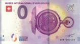 Billet touristique 0€ Musée international d'horlogerie 2018