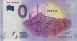 Billet touristique 0€ Pic du Midi 2877m 2017