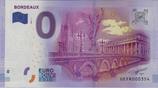 Billet touristique 0€ Bordeaux 2016