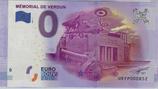 Billet touristique 0€ Mémorial de Verdun 2016