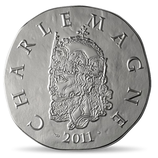 10 euros argent Charlemagne 2011