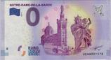Billet touristique 0€ Notre Dame de la Garde Tour vierge et angelot 2017