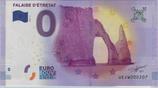 Billet touristique 0€ Falaise d'Etretat 2017