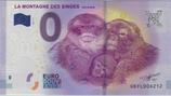 Billet touristique 0€ La montagne des singes Kintzheim 2017