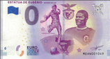 Billet touristique 0€ Estatua de Eusebio Estadio da luz 2018