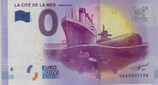 Billet touristique 0€ La cité de la mer Cherbourg 2017