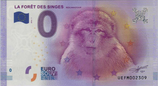 Billet touristique 0€ La foret des singes Rocamadour 2016