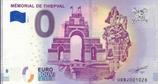 Billet touristique 0€ Mémorial de Thiepval 2018