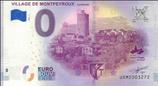 Billet touristique 0€ Village de Montpeyroux Auvergne 2018
