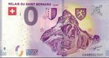 Billet touristique 0€ Relais du Saint Bernard Valais 2018