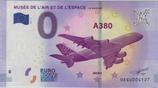 Billet touristique 0€ Musée de l'air et de l'espace Le Bourget A380 2017