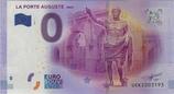 Billet touristique 0€ La porte Auguste Nimes 2017
