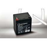Q-Batteries 12LS-4.5 12V 4,5Ah Blei-Vlies Akku / AGM VRLA