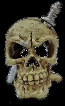 Superfish Deco Led Skull White