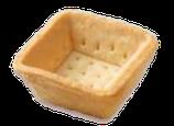 Dessertschale: TS02* – Carré 38 mm,  378 Stück pro Karton / 7 Blister pro Karton