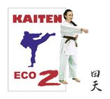 Karateanzug mit KT-Logo bestickt