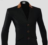 Veste HOMME  HORSEPILOT Tailor Made noire contrastes orange taille 48