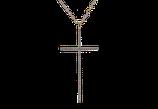 Brillant Anhänger Kreuz