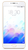 Meizu M3 Note Zilver Wit 16GB