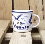 "Porzellan Kaffebecher ""Moin Hamburg """