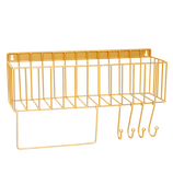 Metallregal, gold