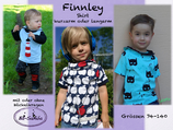 Finnley - Wickelkragen-Shirt/Kleid