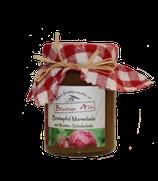 Bratapfel Marmelade mit weißer Schokolade