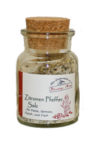 Zitronen-Pfeffer Salz