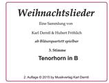 3. Stimme: TENORHORN in Bb  WL