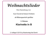 2. Stimme: KLARINETTE in Bb  WL